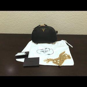 Prada odette saffiano belt bag / crossbody bag